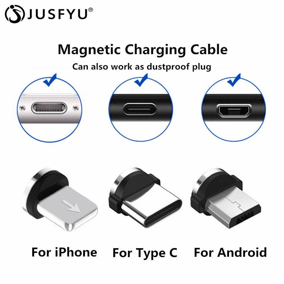 Liberaal Snel Opladen Micro Usb Plug Voor Iphone X Samsung Huawei Xiaomi Redmi Lg Kabel Ios Plug Type C Plug 8pin Plug Voor Magnetische Kabel Aangenaam Om Te Proeven