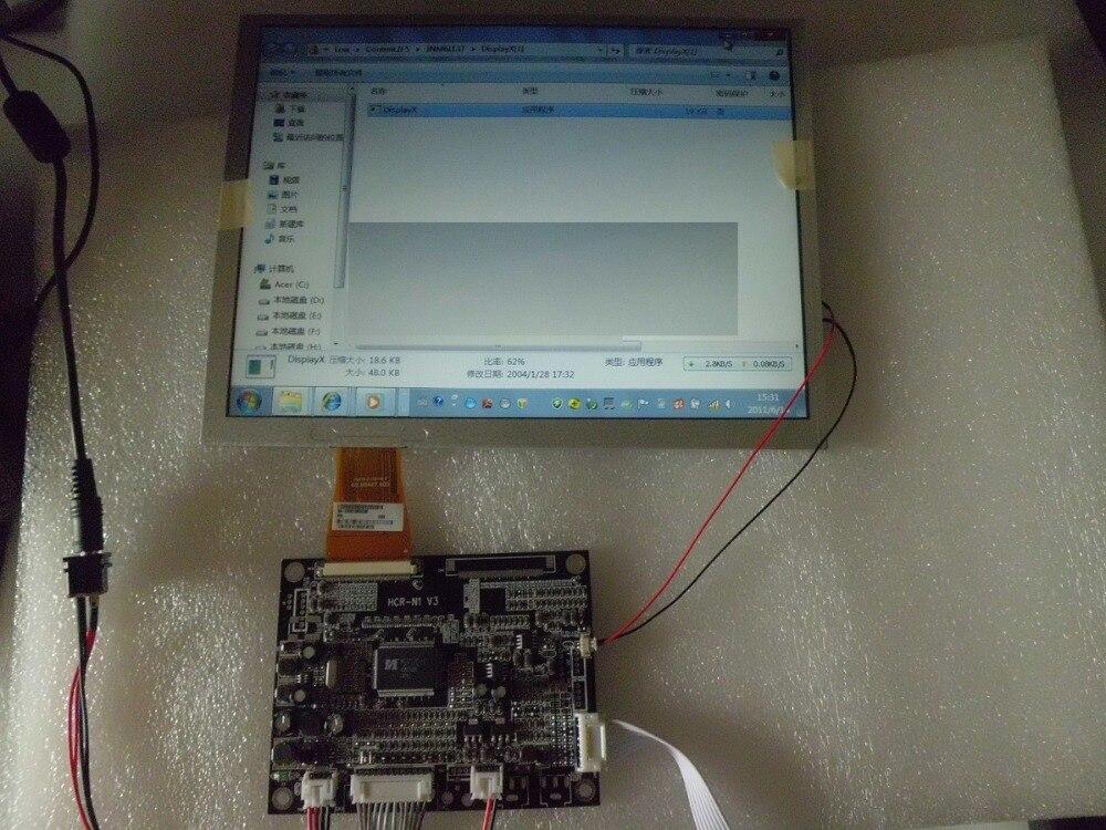 A104SN03 V.1 + VGA / AV driver board / 10.4 inch VGA module 10 4 inch a104sn03 v 1 display screen