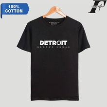 LUCKYFRIDAYF K-pop Detroit Become Human T-shirt Hot Game 100% Cotton Short Sleeve Summer Casual Clothes Plus Size 4XL