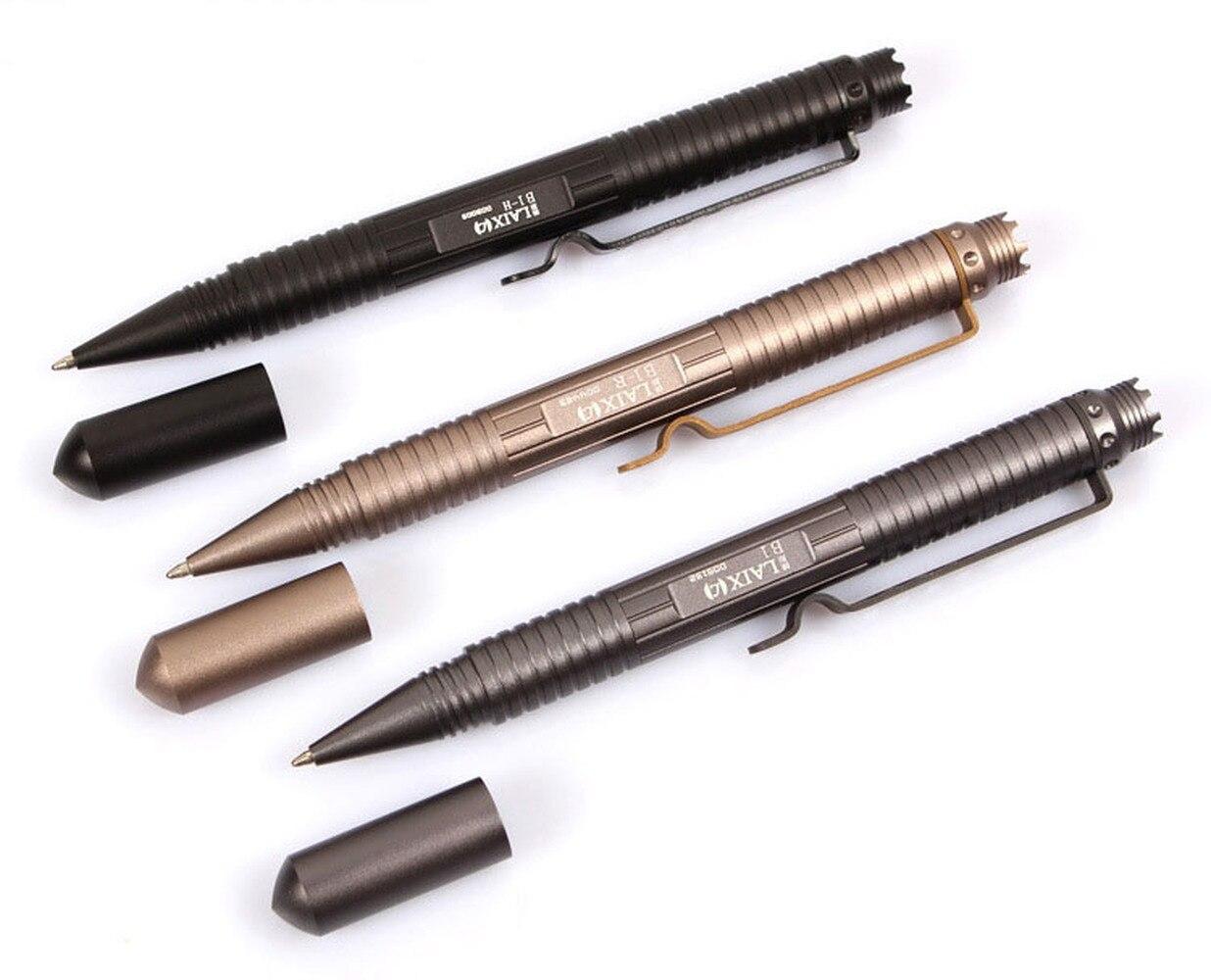Multi-Function Tactical Pen Self Defense Glass Breaker Outdoor EDC Pen Tool Tungsten Steel Head Bolt Switch Gift Box