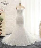 Julie Vino New Collection 2015 Wedding Dresses With Straps Sweetheart Mermaid Chapel Train Appliques Tulle Backless