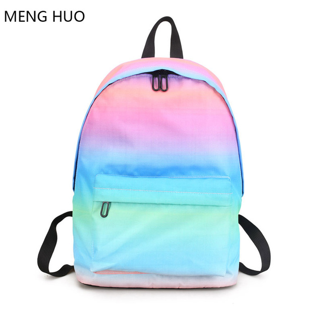 summer fashion ladies backpack kawaii rugzak women schoolbag men ...