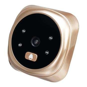 2.4 Polegada Visor Lcd Visor Da Porta Olho Campainha 135 Graus De Detecção De Movimento Doorbells Inteligente Porta Do Agregado Familiar Telespectadores Anti-roubo