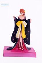 Sexy Black Nami Kimono Figure 21CM