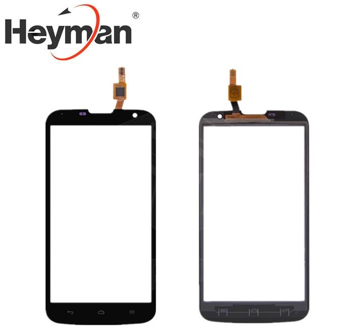 Heyman Touchscreen Digitizer Glass Panel Front Glass Lens Sensor for Huawei Ascend G730 U10 Cell Phone#HMCF 055 1140 Y|glass lens|front glass|huawei digitizer -