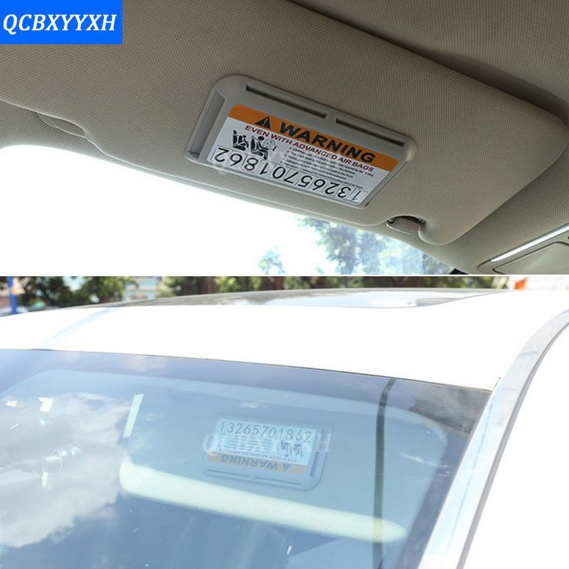 Car Sun Visor Card Holder Storage Box Business Card Highway Card ...