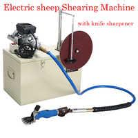 Cizalla eléctrica giratoria 360 tijeras para granja de ovejas y cabras 220 V