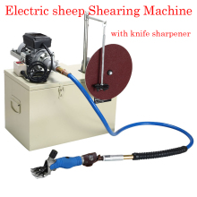 360 Rotate Electric Shearing Machine Clipper Shears For Sheep Goats Farm 220V electric wool shear110 220v 350w electric clipper sheep goats shearing clipper shears
