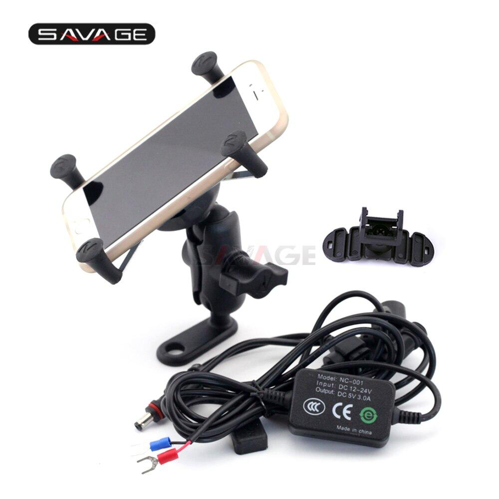 Support pour téléphone pour BMW F 800 GS ADV F800R F650 F700 F750 GS Dakar accessoires de moto support de cadre de Navigation avec Port USB