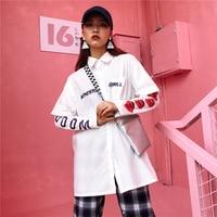 Orijinal Gece Rüzgar Gömlek Kadın Kollu Ceket 2017 Giyim Yeni Desen Bf Kolay Kore Öğrenci Severler Yazım Renk Gömlek A3580