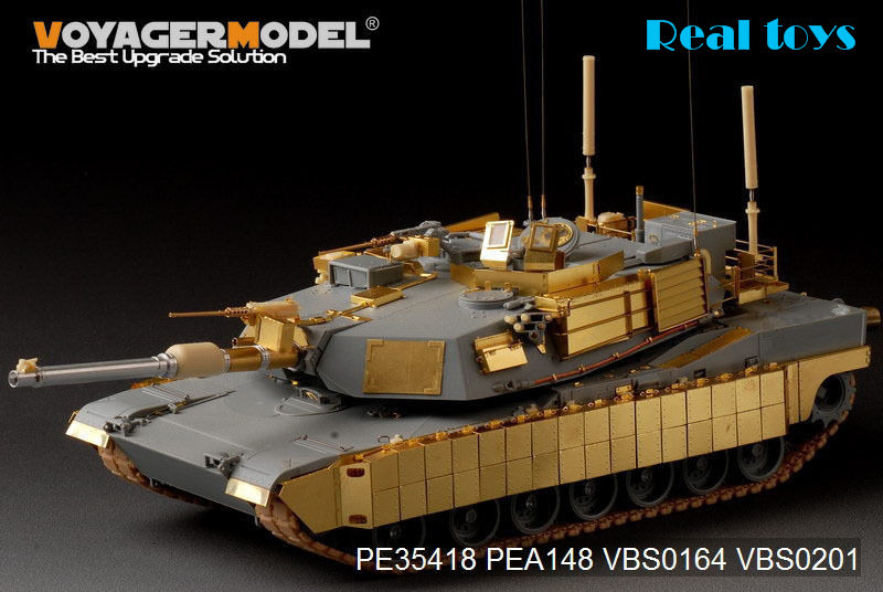 Voyager 1:35 Modern US M1A1 TUSK1 Abrams Basic (For Dragon 3535) PE35418 voyager pe35419 1 35 modern us m1a2 tusk2 abrams detail set for dragon 3536