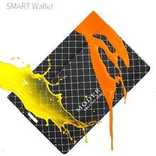 Ripstop Fabric Card Wallet Men Card Holder Antidirty, Durable and Waterproof Guaranteed Rfid Blocking   Modern