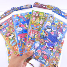 1pcs Stationery Stickers Marine life Diary Planner Decorative Mobile Stickers Scrapbooking DIY Craft Stickers(China)