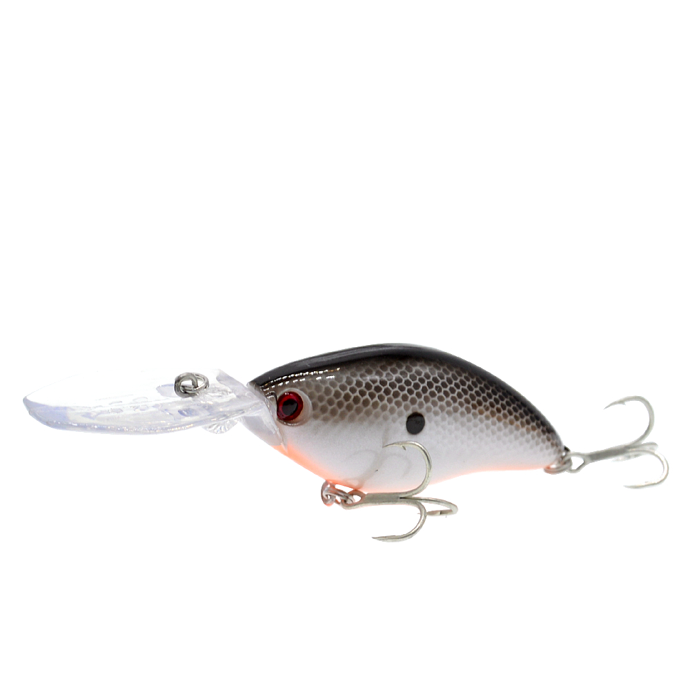 Image 5 - 110mm 18g Deep Diving Pesca Fishing Lure Hard Crankbait Minnow Wobbler for Bass-in Fishing Lures from Sports & Entertainment
