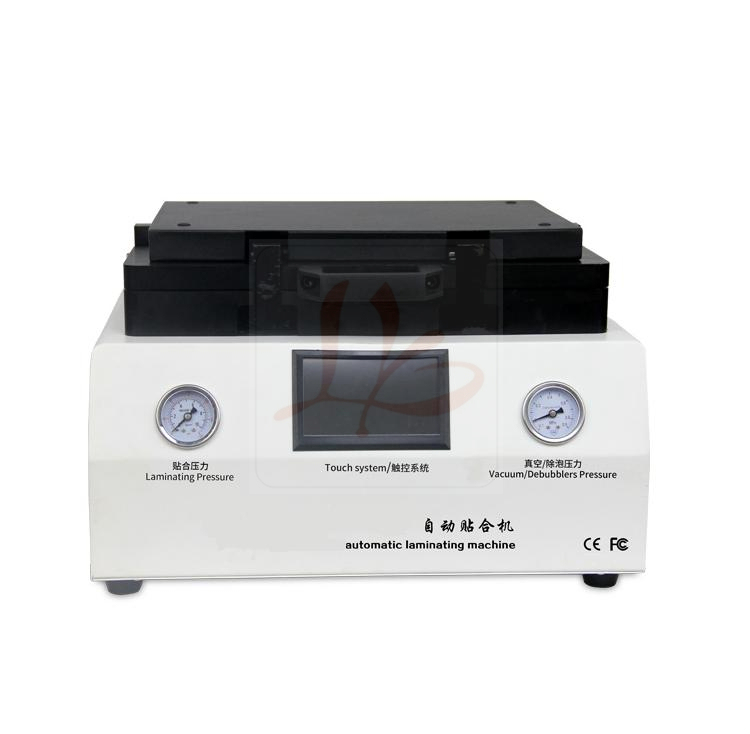 All in one Auto air lock LY 888D Vacuum Laminating Machine OCA Laminator with built in pump and defoaming machine