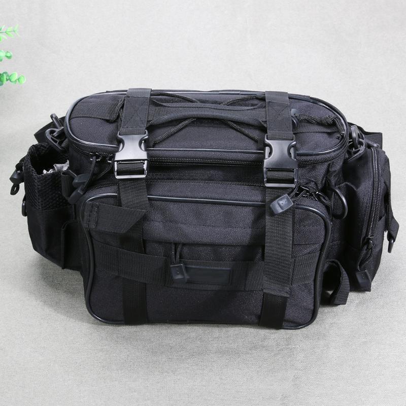 27L Large Capacity Multifunction Waterproof Fishing Bag Lure Fishing Tackle Pack Outdoor <font><b>Carp</b></font> Fishing Equipment Storage Backpack