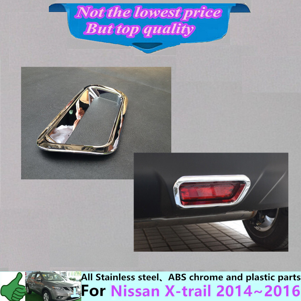 For nissan x trail xtrail 2014 2015 2016 car frame stick styling abs chrome cover