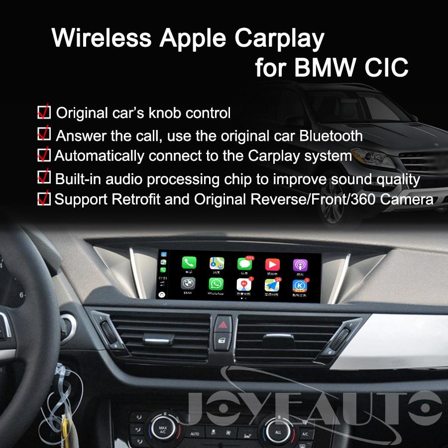 Image 4 - Joyeauto ワイヤレス apple carplay bmw cic 6.5 8.8 10.25 インチ 1 3 5 6 7 シリーズ X1 X3 X5 x6 Z4 2009 2013 アンドロイド自動車再生車載テレビ受信機   -
