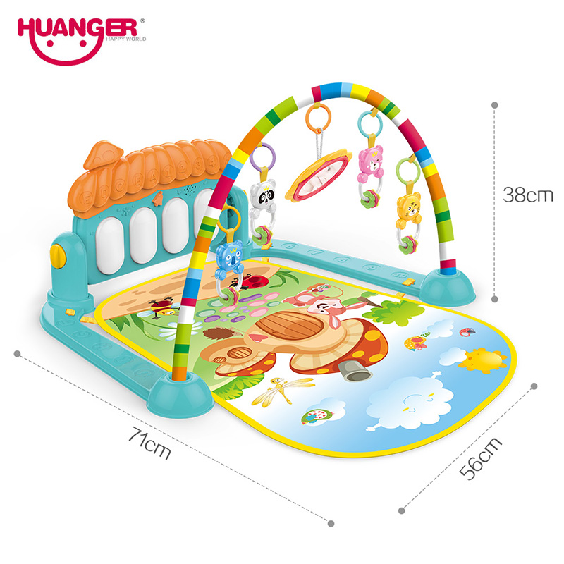 Dropship baby mat carpet musical activity gym puzzle children's tapete infantile Soft pad floor game creeping developmental toy | Happy Baby Mama