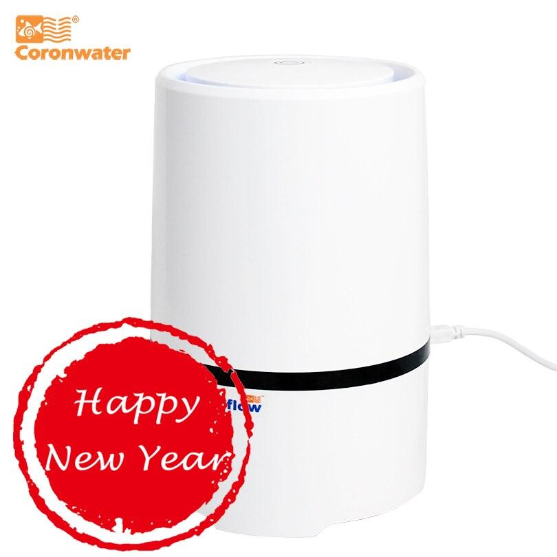 Coronwater дома и офиса Desktop HEPA фильтр очиститель воздуха портативный ионизатор воздуха GL-2103