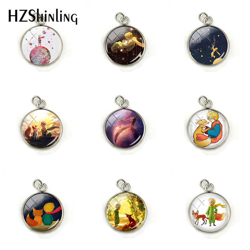 New Fashion The Little Princes with Fox Jewelry Accessories Little Princes Glass Cabochon Stainless Steel Jewelry Wholesale