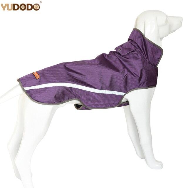 Esterna impermeabile Pet Dog Coat Giacche Riflettenti Traspirante Medio Grande C