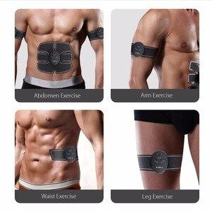 Image 3 - Ems トレーナー筋肉マッサージ電気マッサージ器 abs 刺激ヒップ腹部アーム腹部フルトレーナー