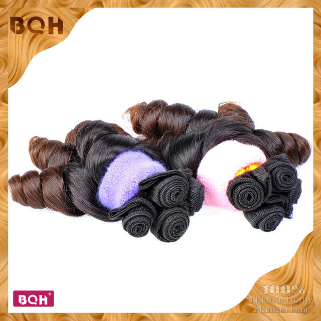 Newest Hair Style Two Tone Hair Extensions 1b4 Ombre Brazilian