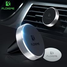FLOVEME Magnetic Car Phone Holder For iPhone X 7 Samsung Universal Air Vent Moun