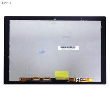 LPPLY 10.1 LCD Assembly BLACK For SONY Xperia Tablet Z4 SGP712 SGP771 Lcd Digitizer Touch Screen Replacement Free Shipping