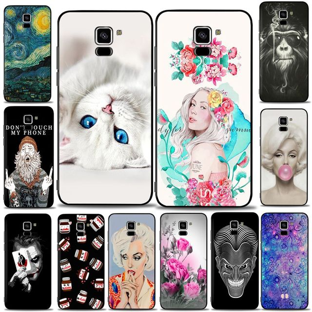 new styles c9df8 e6721 US $0.8 24% OFF|Soft TPU Case For Samsung Galaxy A8 2018 A530 A530F Case  Cover Silicone For Samsung Galaxy A5 A8 2018 SM A530F Cover Phone Bags-in  ...
