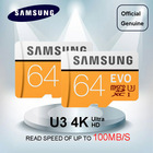 Original Samsung EVO micro SD card 32GB 16GB microSDHC microSDXC C10 microsd TF card 64GB 128GB Support Official Verification