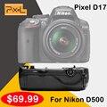 Pixel Vertax D17 Сжатие Батареи Для Nikon D500 DSLR Камеры Vs Meike MK-DR500 MK-D500 Как MB-D17