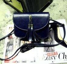 Fashion Women Shoulder Bags Korean Small Tassel ZipperCrossbody Bags Fashion Ladies Messenger Handbags Girl s Gift