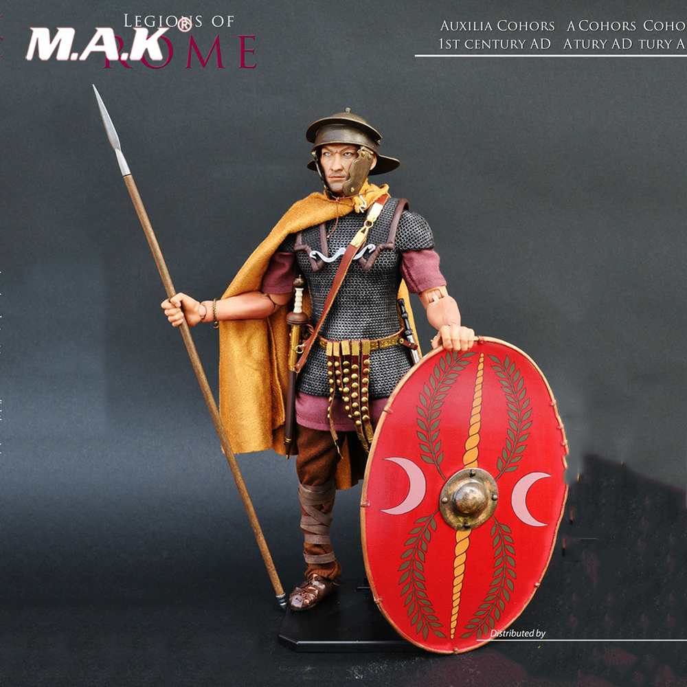 legions of Roman 1/6 KAUSTIC PLASTIK Ancient soldiers Roman warrior KP13 Auxilia Action Figure Model With Box for Collections legions of Roman 1/6 KAUSTIC PLASTIK Ancient soldiers Roman warrior KP13 Auxilia Action Figure Model With Box for Collections