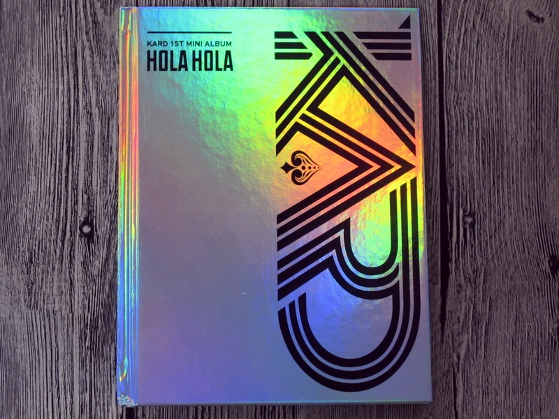 Signed KARD K.A.R.D autographed mini1st album Hola Hola CD KPOP 082017 bigbang seungri 2nd mini album let s talk about love random cover booklet release date 2013 08 21 kpop