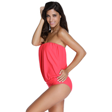 Two-Pieces Blouson Tankini