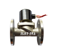 G1 1/2 DN32 stainless steel Liquid gas Normally closed flange solenoid valve