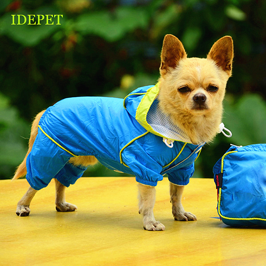 Dog Raincoats for Dog Clothes Waterproof Pet Raincoat For