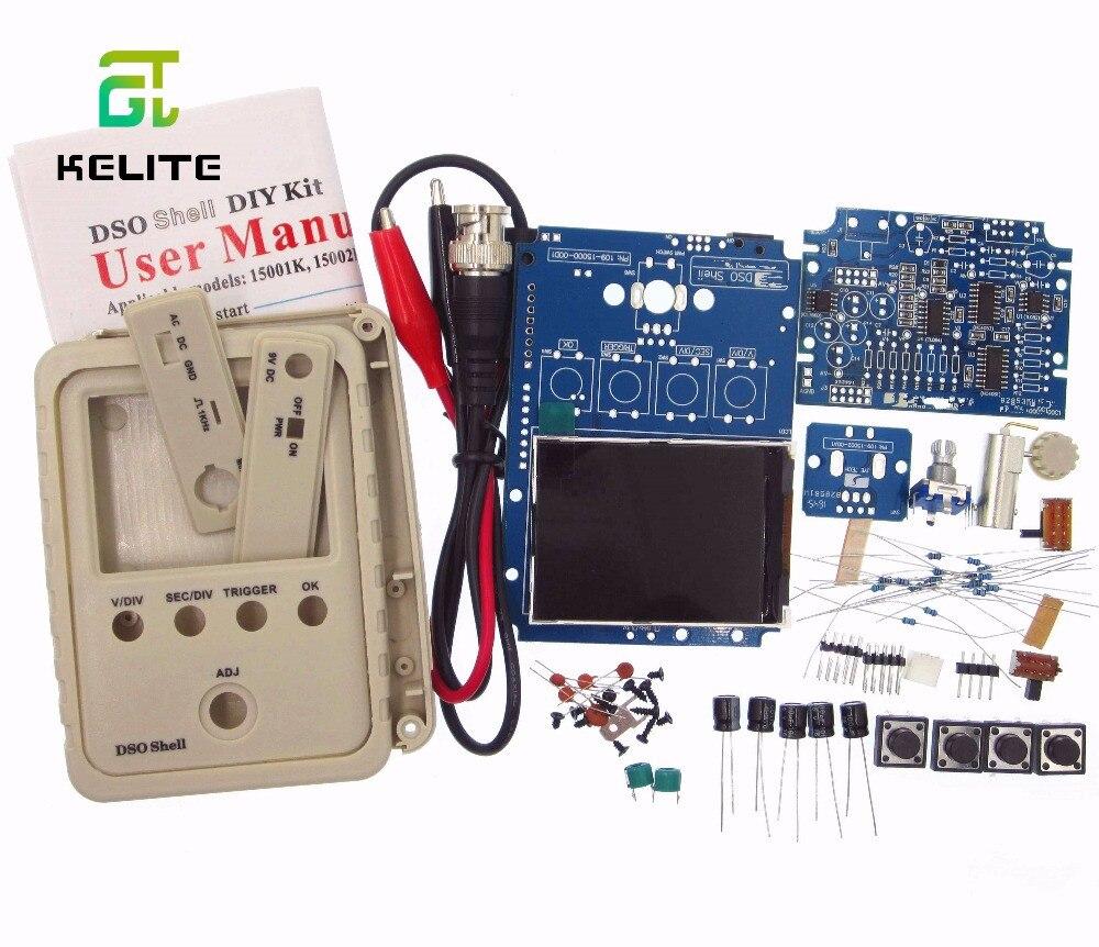 HAILANGNIAO 1 set/sets original tecnología DSO150 15001 K DSO-SHELL DS0150 DIY osciloscopio Digital