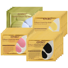 efero 8pack/4types Eye Patch Collagen Eye Mask Gel Patches for the Eyes Sheet Mask Face Care Dark Circles Anti Aging Eyes Cream electric facial massager for eyes lips anti aging wrinkle eye patch dark circle remover pen ion import eyes care massage device