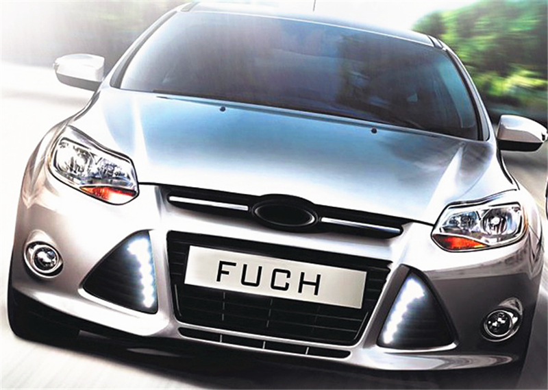 wholesale car styling For Ford Focus 3 2012 2013 2014 LED DRL Daytime Running Lights Daylight