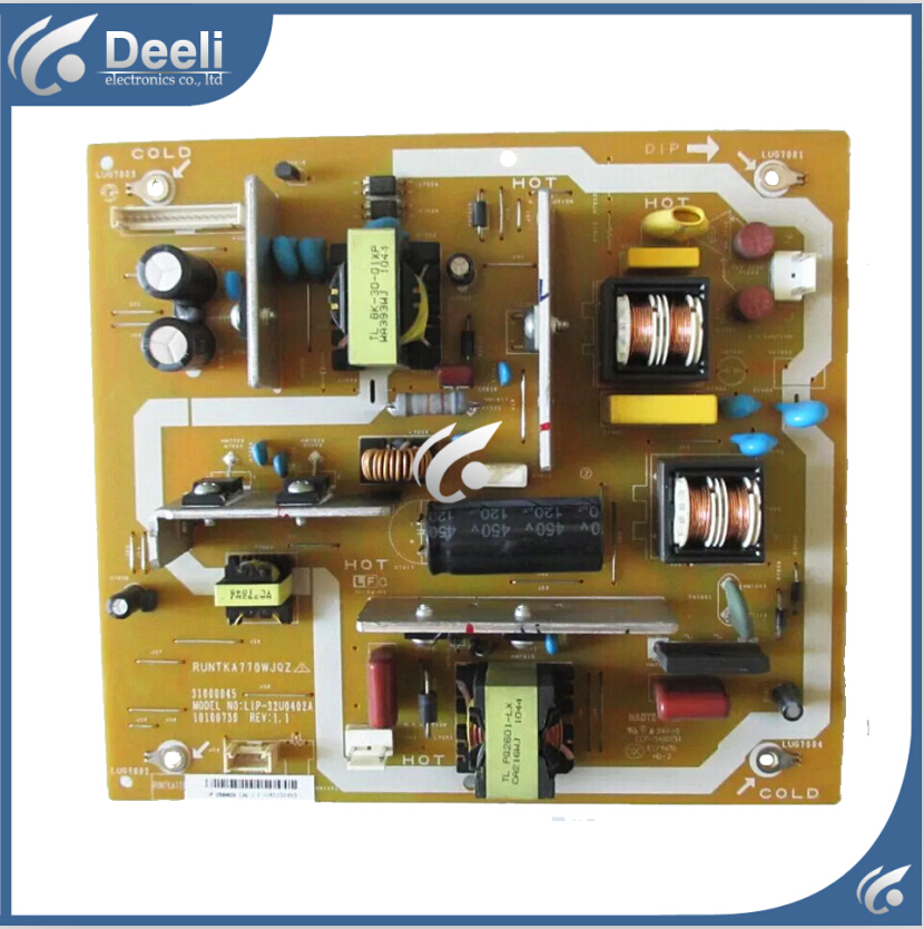 все цены на  95% new original for LCD-32L120A power board RUNTKA770WJQZ LIP-32U0402A  онлайн