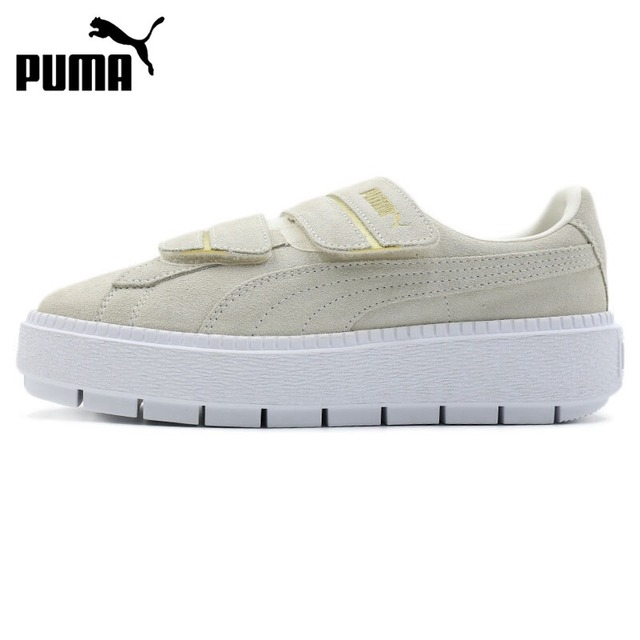 check out caf33 7a307 Original New Arrival 2018 PUMA Platform Trace Strap Women's Skateboarding  Shoes Sneakers