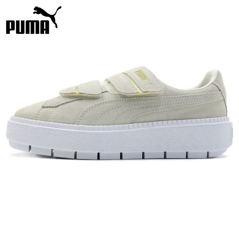 Original New Arrival 2018 PUMA Platform Trace Strap Women's Skateboarding Shoes Sneakers