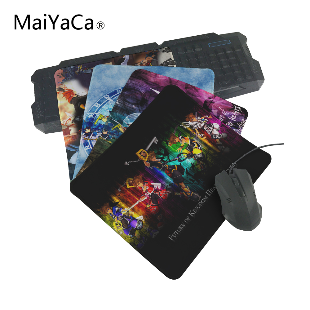 MaiYaCa Luxury Print PC of Cheap Kingdom Hearts Keyblades Sora Stylish Gamer Gaming Comfort Optical Laser Non Slip PC Mouse Pad