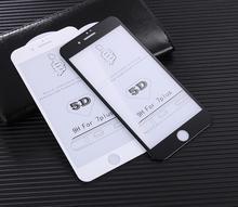 CAMDEMS 10pcs 9H Hardheid Anti Kras 5D Screen Protector voor iPhone 11pro max XS MAX XR 66s 8 8P 7 Volledige Cover Gehard glas
