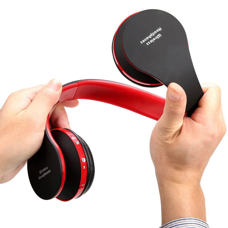 Hot Stereo Foldable Headset Handsfree Wireless Bluetooth Headphones Earphone with Mic Micphone for iPhone Galaxy HTC Smart phone a2dp universal wireless bluetooth headphons stereo headset handsfree with mic earphone for samsung lg iphone htc moto zte tablet