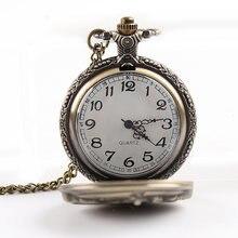 Винтажные винтажные карманные часы в стиле стимпанк ретро бронзовые