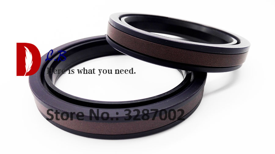US $45 65 |SPGW Piston PTFE compact seal OD=70 mm 95 mm hydraulic cylinder  seal parts PTFE BRONZE / NBR / POM PDH rubber ring-in Gaskets from Home